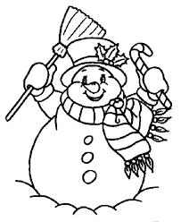 free printable coloring pages snowman murderthestout