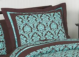 brown and turquoise bedding sets 10286
