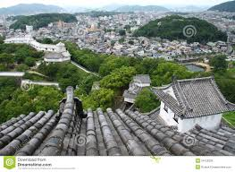 japanese town japanese town from above stock image image of japan 54129239