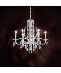 Silver Chandelier by Schonbek Rs8306 Sarella 6 Light Chandelier Capitol Lighting 1