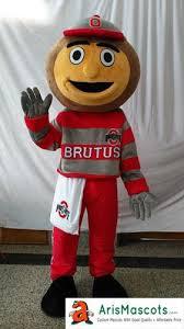 Brutus Buckeye Halloween Costume Ohio Buckeyes Brutus Mascot Costume Sports Mascots Fancy