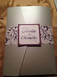 Pocketfold Invitations Our Diy Pocketfold Invites Weddingbee Photo Gallery