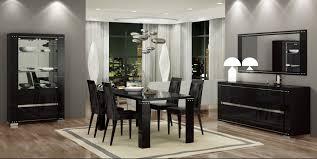 black dining room tables armonia diamond dining room set black buy online at best price