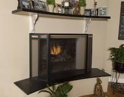 include a fireplace screen for safety and secure