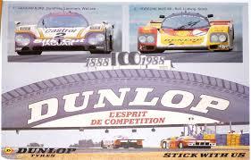 porsche racing poster jaguar xjr9 u0026 porsche 962 le mans win 1988 dunlop poster 22 x 16