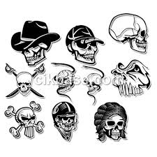 10 skull tattoo design patterns photoshop brushes for free