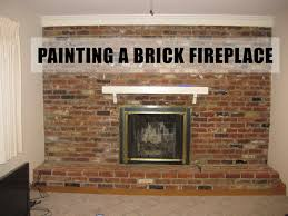 paint brick fireplace binhminh decoration