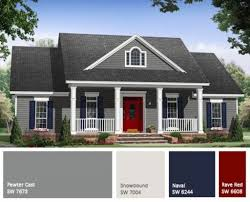exterior home color schemes ideas 25 best exterior paint schemes