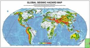 global zone map seismic zone map