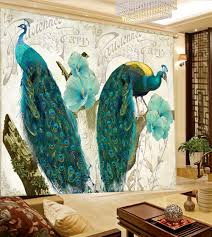 Living Room Curtains Cheap Online Get Cheap Peacock Living Room Curtain Aliexpress Com