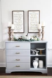 diy dresser to sideboard buffet makeover just a and her blog