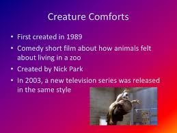 Bbc Creature Comforts Aardman Animation