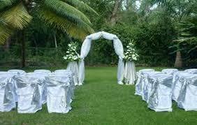 simple garden wedding decoration ideas best garden wedding aisle