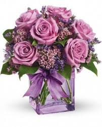 purple roses purple roses fresh arrangement in storrs ct the
