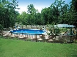 Backyard Pool Pictures 146 Best Beautiful Above Ground Pools Images On Pinterest Ground