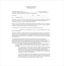 9 consignment agreement templates u2013 free sample example format
