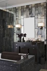 Mirror Bathroom Tiles 32 Moody Bathroom Designs That Impress Digsdigs