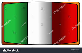 Flag Of Itali Flag Italy Green White Red Stock Illustration 27410182 Shutterstock