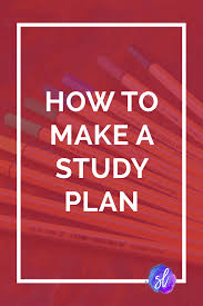 how to make a study plan for finals u2022 sara laughed