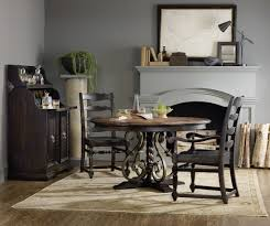 round dining room table with leaf hooker furniture dining room treviso round dining table with one