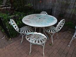 Backyard Furniture Set by 1326 Best Vintage Wrought Iron Patio Furniture Images On Pinterest