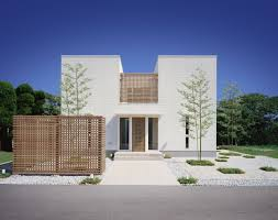 Contemporary House Design by Modern 3d Contemporary House Design With Blue And White