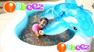 orbeez pool and dolphin summer water fun play b2cutecupcakes