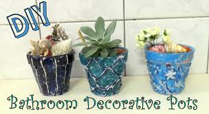 diy plant pot decoration idea using a glue gun by fluffyhedgehog