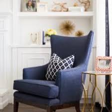 Blue Chairs For Living Room Armchair Velvet Chair Studded Accent Chairs Blue Accent Chair