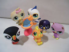 hasbro bird figures in littlest pet shop ebay