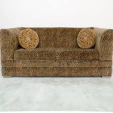 La Z Boy Sleeper Sofa Contemporary Leopard Print Sleeper Sofa By La Z Boy Ebth