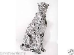 silver animals ebay