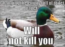 Toilet Paper Roll Meme - toilet paper quickmeme