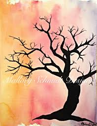 Home Decor Canvas Art Acrylic Painting Canvas Art Tree Home Decor Mixed Media