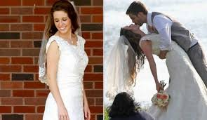 dillard bridal mode femme duggar tries on wedding dresses bloghotel org
