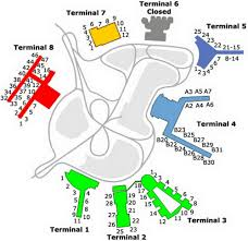 Dallas Terminal Map by Us Airport Terminal Maps Slideshow Quiz By Desafinado440