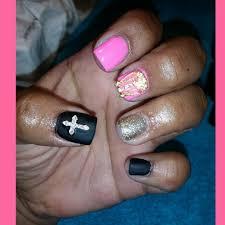inspirational acrylic nail designs matte