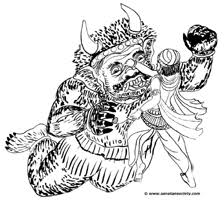 hindu kids coloring pages