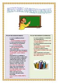 114 free esl present simple and continuous worksheets