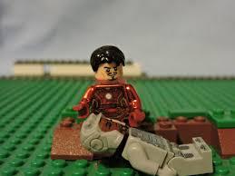 captain america civil war trailer in lego chrome iron man