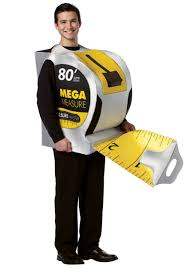 halloween costume ideas for guys construction worker costume male tape measure costume guys in