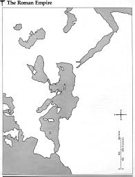 Roman World Map by World History I Map Page