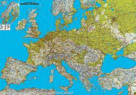 Physical Map Of Greece by Road U0026 Physical Map Of Europe Freytag U0026 Berndt U2013 Mapscompany