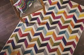 Modern Rugs Designs Quality Soft Touch Modern Rugs Multi Colour Designs Funky Patterns