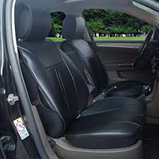 hyundai santa fe 2007 black amazon com 120901s black 2 front car seat cover cushions leather