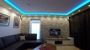 steinwand wohnzimmer tipps 2 lights for a stonewall