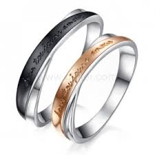 custom jewelry engraving custom engraved promise wedding commitment engagement couples