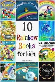 10 Awesome Books About Rainbows Totally Awesome Color Themes Children S Books About Colors