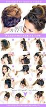 how to headband braid messy bun cute hairstyles makeupwearables