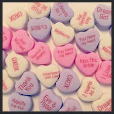 heart candy sayings custom candy welcome to the world of necco